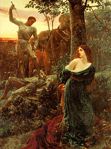 220px-Dicksee-Chivalry-1885